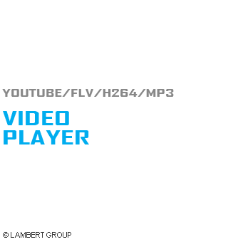 Playlist Video Player WordPress Plugin - FLV/YouTube/H.264/MP3